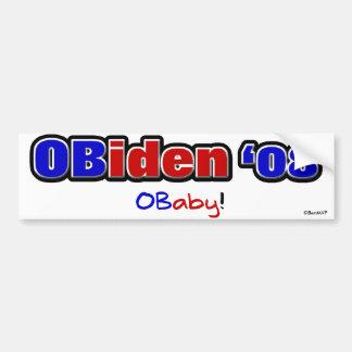 OBiden 08 O Baby Bumper Stickers
