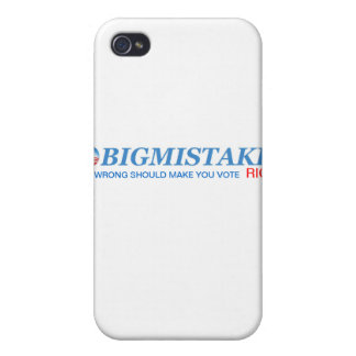 OBIGMISTAKE iphone cover iPhone 4/4S Covers