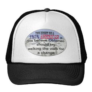 oblameo walk the walk hat