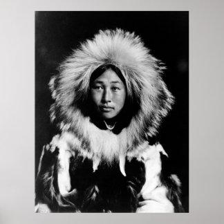 Obleka, an Eskimo Woman: 1907 Poster
