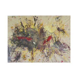 Obliterated Gallery Wrap Canvas