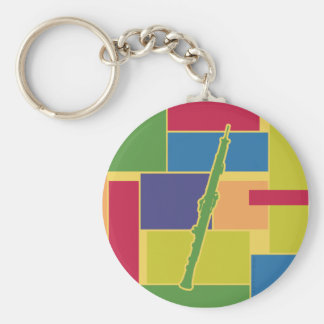 Oboe Colorblocks Keychain