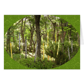 Oboe Forest Card