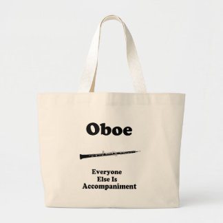 Oboe Gift Large Tote Bag