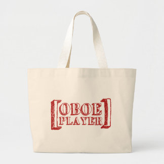 Oboe Player Tote Bags