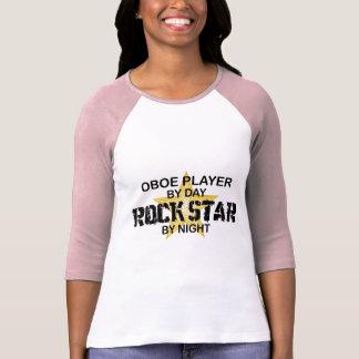 Oboe Rock Star by Night T-shirt