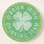 O'Brien Irish Drinking Team Coaster