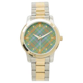O'Brien Tartan Two-tone Watch