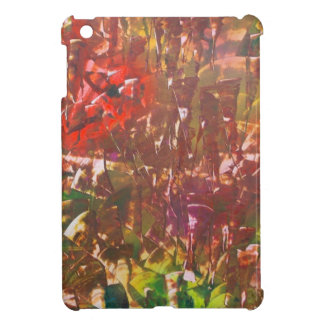 Obscured by Jungle Leaves Cover For The iPad Mini