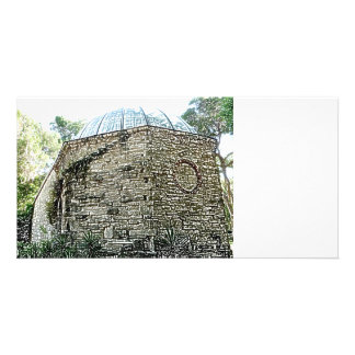 observatory building sketch st augustine picture card