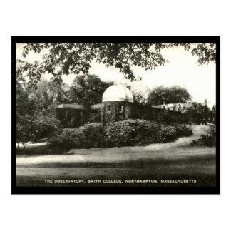 Observatory, Smith College, Northampton MA Vintage Postcard
