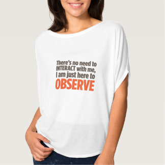 """Observe"" T-Shirt"