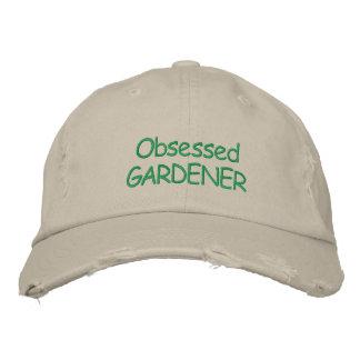 Obsessed GARDENER cap Embroidered Baseball Caps