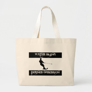obsessed with water ski canvas bag