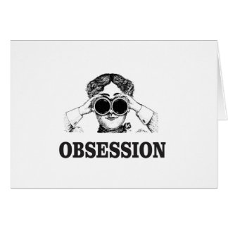 obsession woman card
