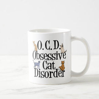 Obsessive Cat Disorder Coffee Mug