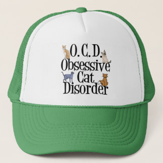 Obsessive Cat Disorder Trucker Hat