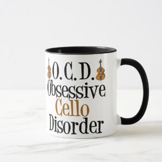 Obsessive Cello Disorder Mug
