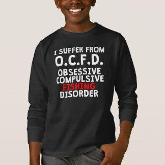 Obsessive Compulsive Fishing Disorder T-Shirt