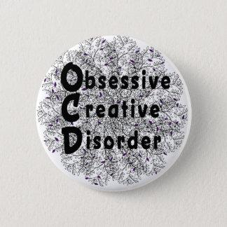 Obsessive Creative Disorder - Artist 6 Cm Round Badge