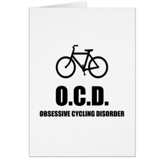 Obsessive Cycling Disorder Card
