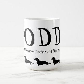 Obsessive Dachshund Disorder Coffee Mugs
