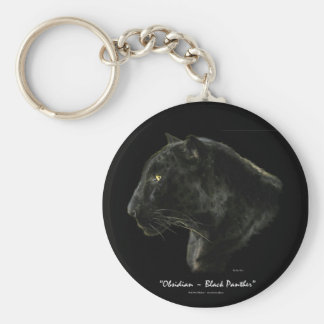 OBSIDIAN BLACK PANTHER Key-chain Key Chain