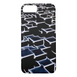 Obsidian Fractal Art iPhone 7 Case