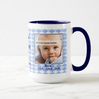 OBSOLETE: Proud New Grandpa Baby Photo Mug