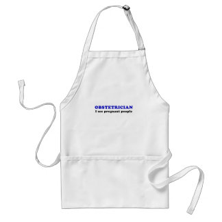 Obstetrician I See Pregnant People Standard Apron