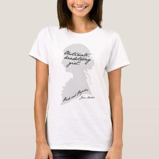 Obstinate Headstrong Girl, Jane Austen T-Shirt