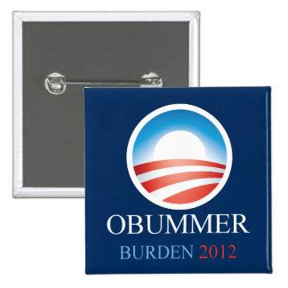 Obummer Burden 2012 15 Cm Square Badge