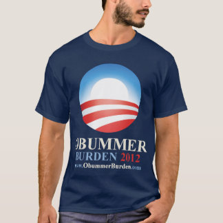 Obummer Burden 2012 - Anti Obama T-Shirt