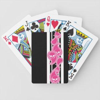 Obverse Ivory (Magenta) Playing Cards