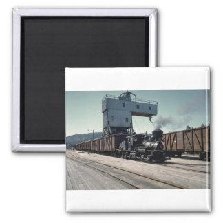 OBW 18 ton Shay locomotive Magnets