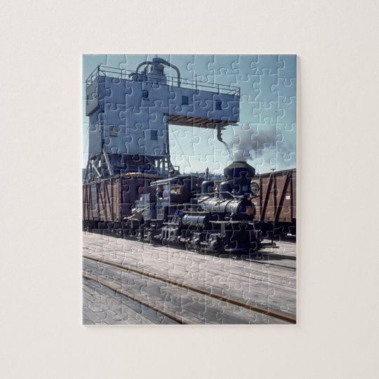 OBW 18 tonne Shay locomotive #1_Trains Jigsaw Puzzle