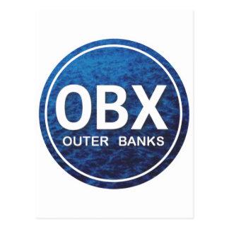 OBX Beach Tag Postcard