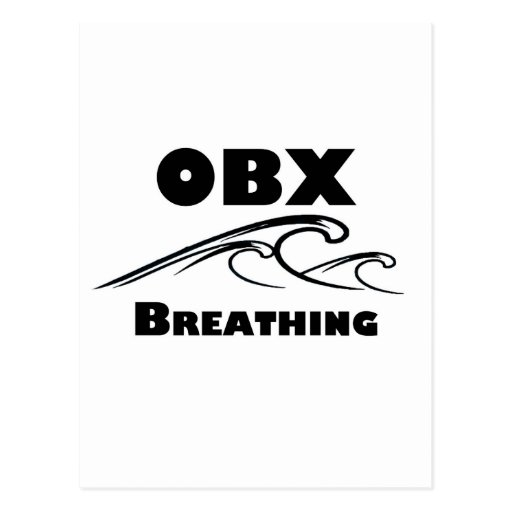 OBX BREATHING - t-shirts, stickers, and more Post Cards