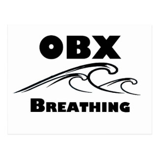 OBX BREATHING - t-shirts, stickers, and more Postcard