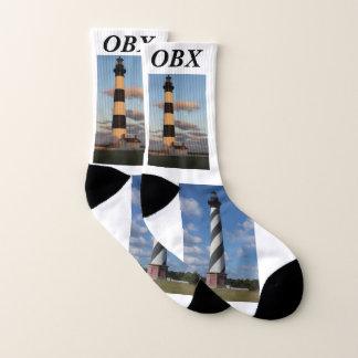 OBX Lighthouse Socks