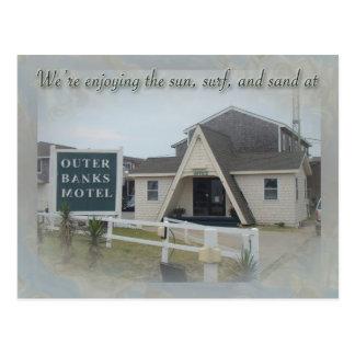 OBX Motel PC Postcard