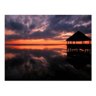 OBX Sunset Postcard