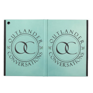 OC logo #1 iPad case - Blue