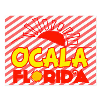 Ocala, Florida Postcard