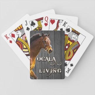 Ocala Living playing cards