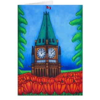 O'Canada Greeting Card