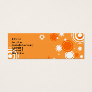 Occasional Spots 2.0 Mini Business Card