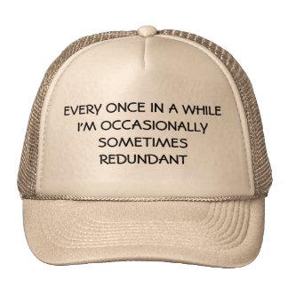 Occasionally Sometimes Redundant Cap