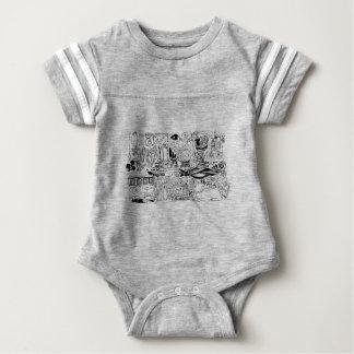 Occult and Magic Baby Bodysuit