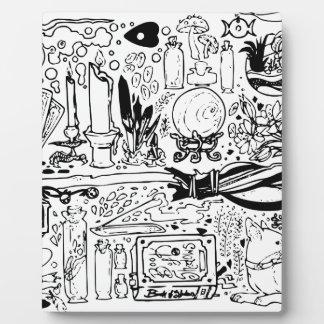 Occult and Magic Plaque